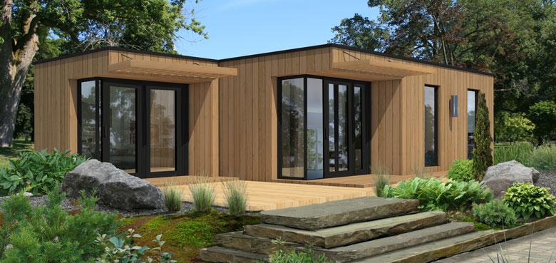 Muiltiplex Modular Home Model Energeco Concept