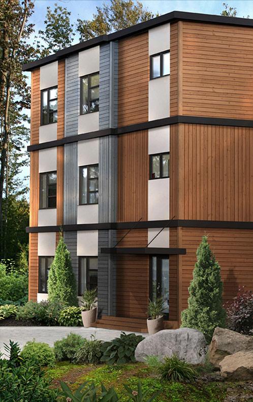 Maison modulaire evolutive trendy dsormais la maison se veut le reflet de vos gots elle devient for Maison modulaire bois prix