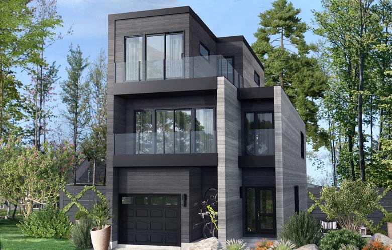 Maison à étages modulaire symphonie