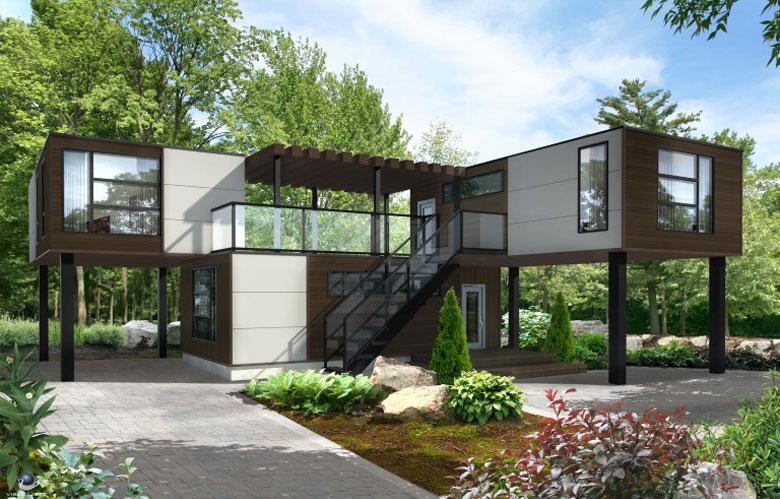logement modulable triplex