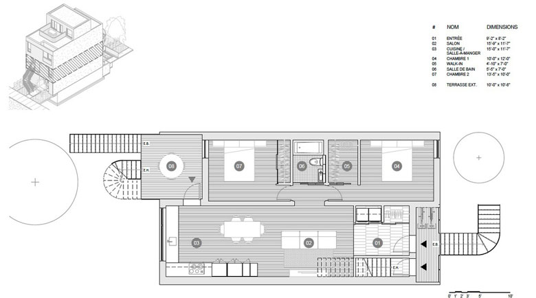 M Series plans - second floor