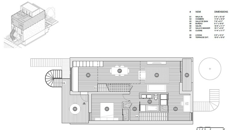 M Series plans - third floor