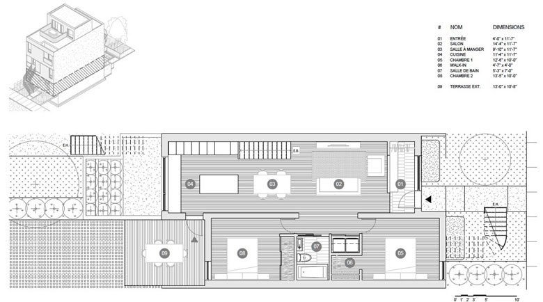 M Series plans - Ground floor