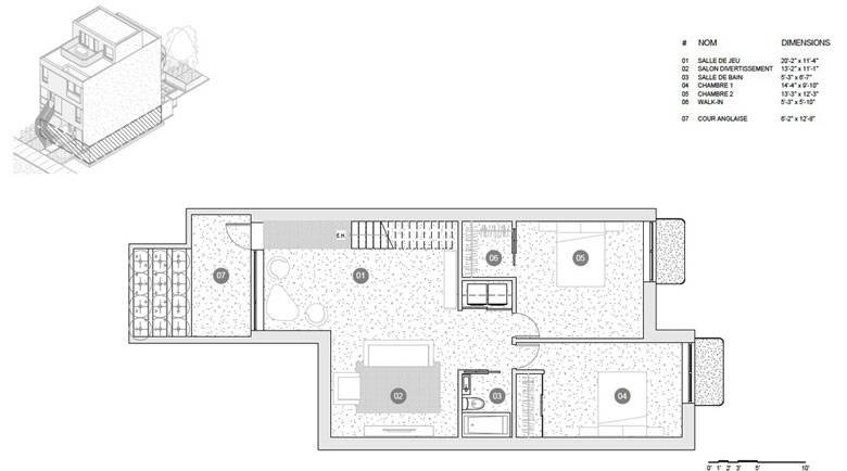 M Series plans - Basement